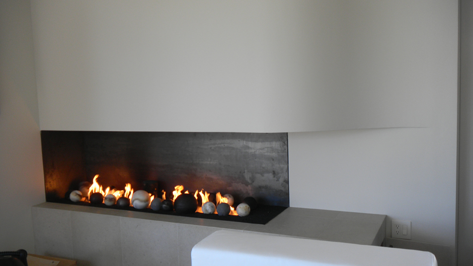 Super 2 Sided Open Corner Fireplace - Energy House NK58