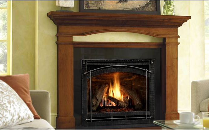 how to turn on heat and glo fireplace