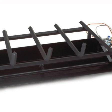 Gas fireplace burners the energy house for Isokern outdoor fireplace prices