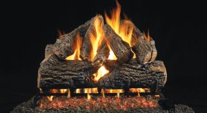 TRADITIONAL GAS FIREPLACE LOG SETS