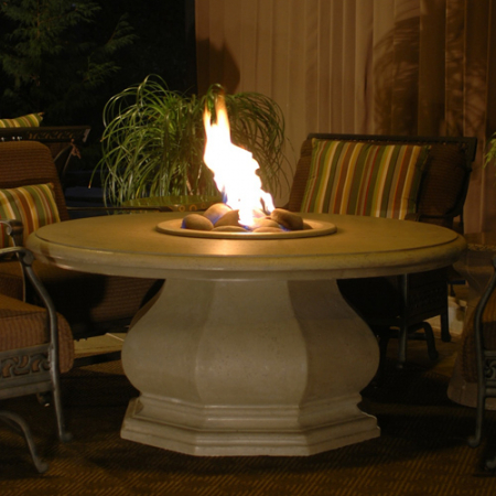 Chat Height Octagon Firetable with
