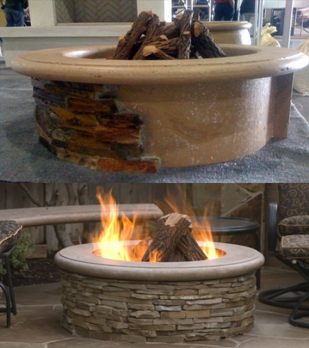Contractor's Model Fire Pit