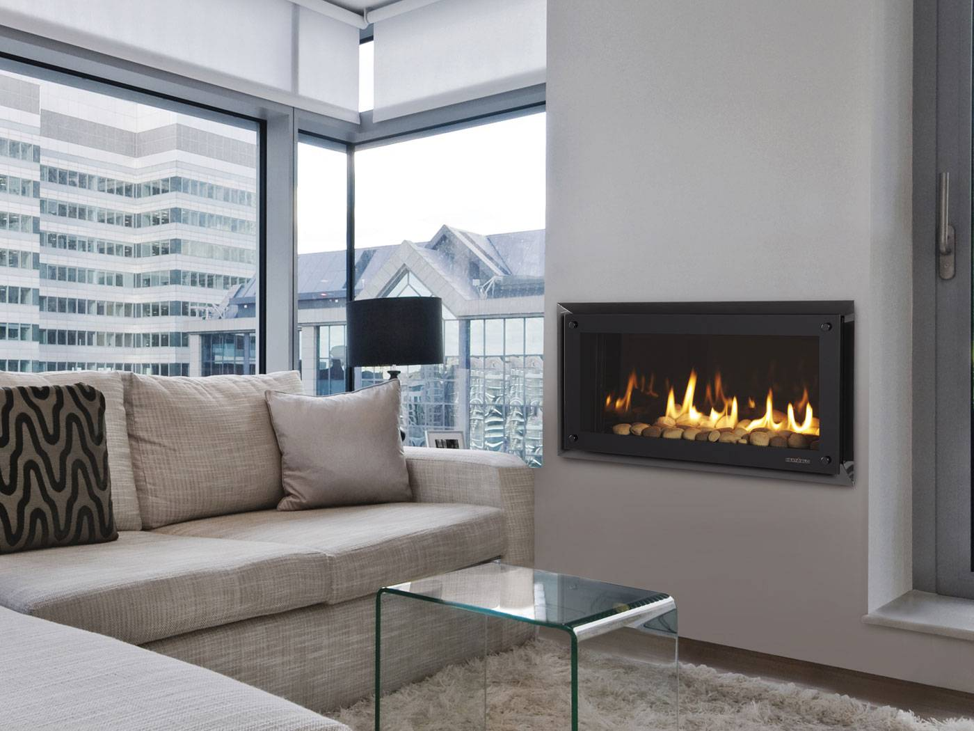 Contemporary Gas Fireplaces | The Energy House