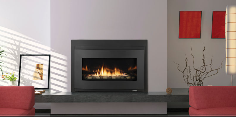 Heat glo cosmo gas insert the energy house for Isokern fireplace inserts