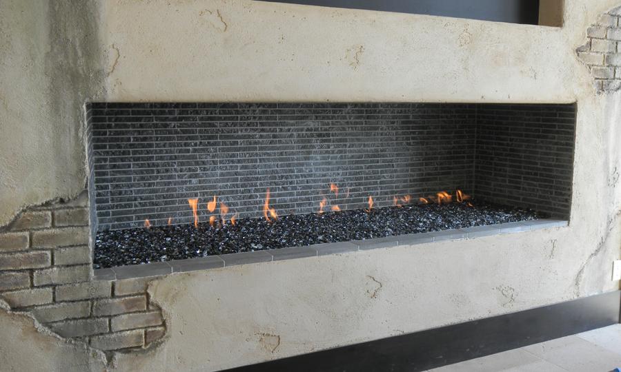 Custom isokern energy house for Isokern fireplace inserts