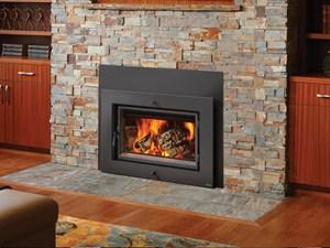 Lopi Large Flush Wood Hybrid Fyre Rectangular Fireplace