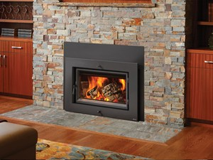Large Flush Wood Hybrid-Fyre™ Insert Rect.