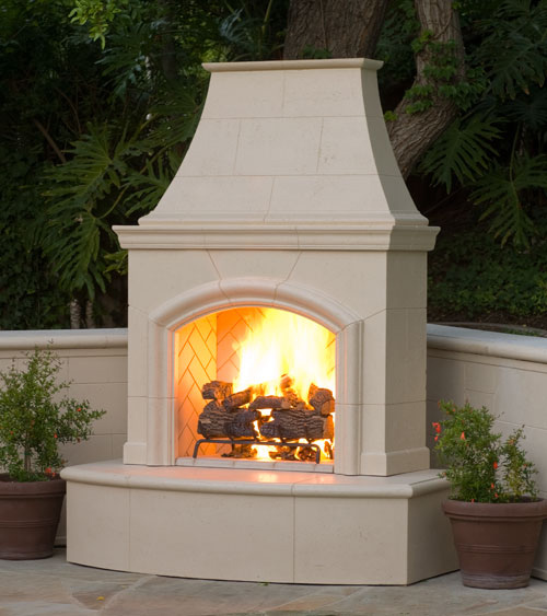 Outdoor Fireplace Design Ideas: American Fyre Designs Phoenix Vent Free Outdoor Fireplace