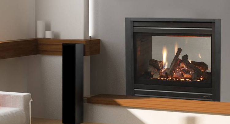 Heat & Glo ST-36 See-Through Gas Fireplace for any room. Our see through fireplace at our fireplace store is in San Jose