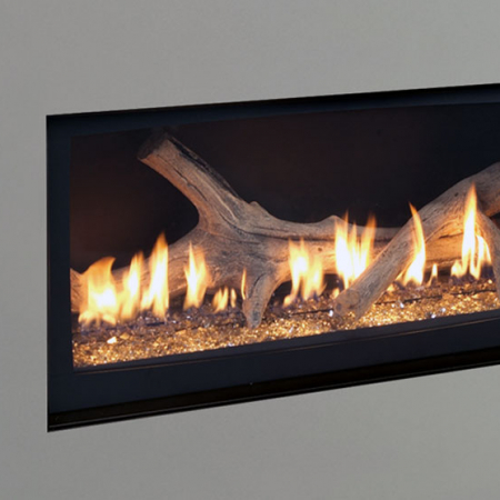 Contemporary Gas Fireplaces The Energy House