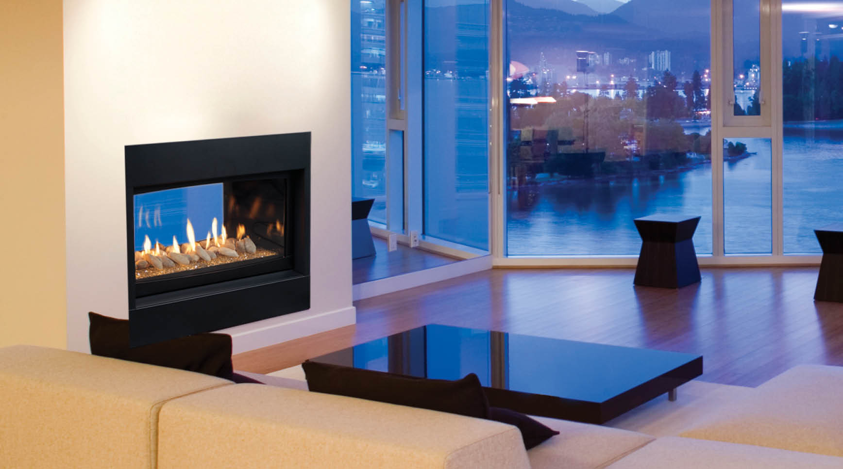 Monessen Serenade See Thru Direct Vent Gas Fireplace