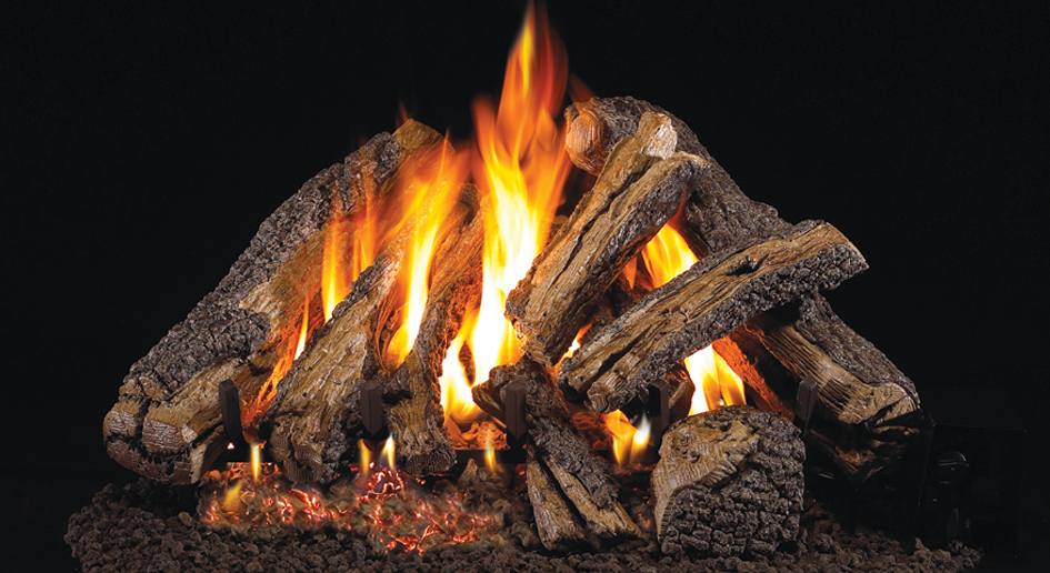 real fyre western campfyre fireplace log set the energy house