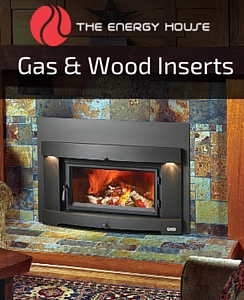 Gas & wood inserts in Atherton CA