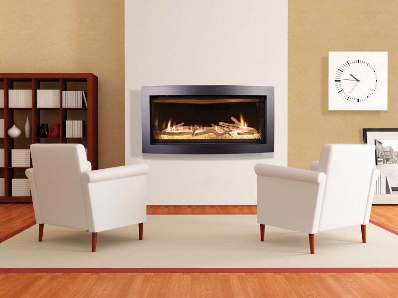 Kozy Heat Slayton 42s Categories Contemporary Gas Fireplaces