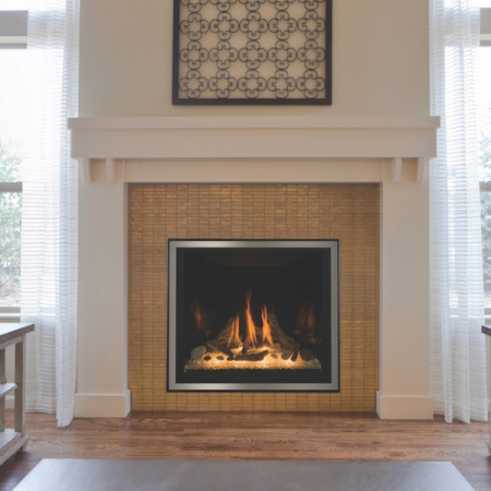 Traditional gas fireplaces the energy house for Isokern outdoor fireplace prices