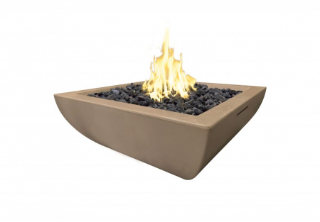 American Fyre Designs 30″ BORDEAUX PETITE SQUARE FIRE BOWL