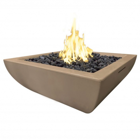American Fyre Designs 30″ BORDEAUX PETITE SQUARE FIRE BOWL