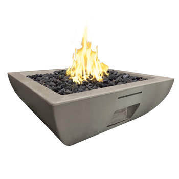 American Fyre Designs 36″ BORDEAUX SQUARE FIRE BOWL