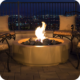 American Fyre Designs 48″ LOUVRE ROUND FIRE PIT