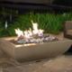 American Fyre Designs 50″ X 30″ BORDEAUX RECTANGLE FIRE BOWL