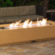 American Fyre Designs 72″ X 30″ LOUVRE LONG RECTANGLE FIRE PIT