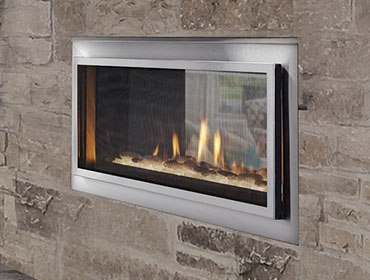 Heat Glo Mezzanine See Thru Fireplace Energy House