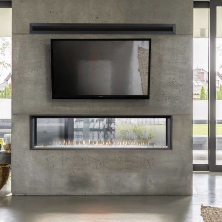 See Thru Fireplaces The Energy House