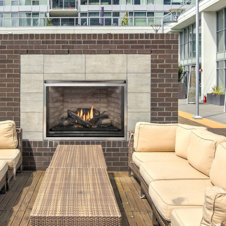 Montigo H38VFO Outdoor Fireplace