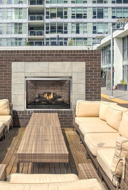 Montigo H38VFO Outdoor Fireplace