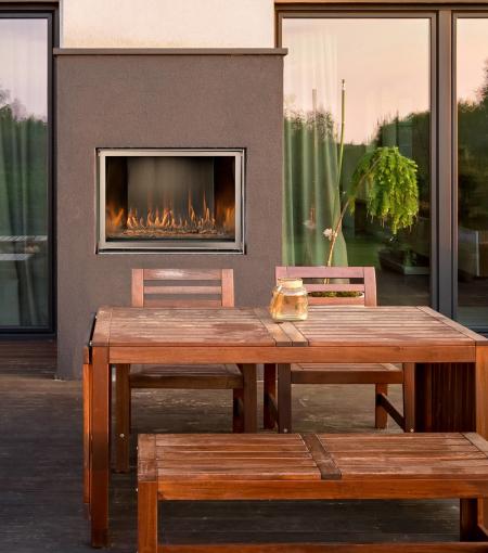 Montigo HL38VO Outdoor Fireplace