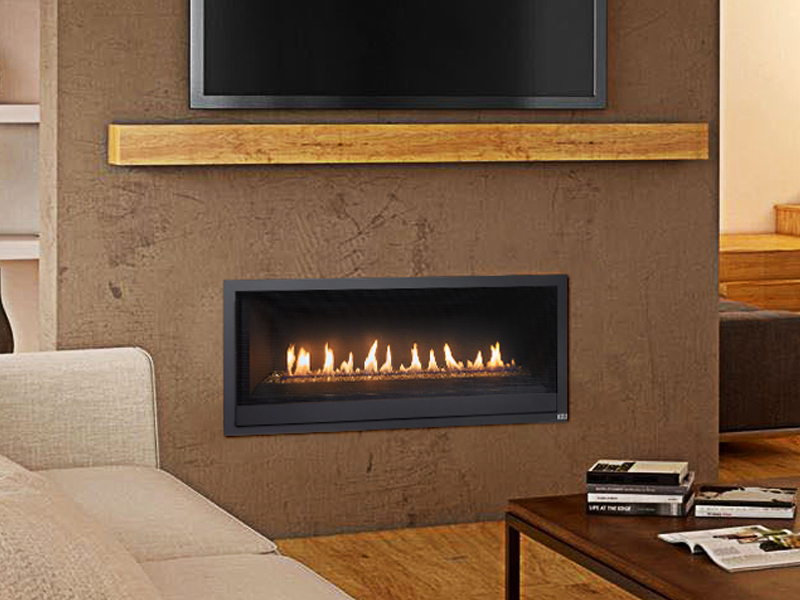Linear Gas Fireplace >> Probuilder 42 Linear Gas Fireplace Energy House