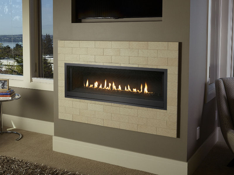Linear Gas Fireplace >> Probuilder 54 Linear Gas Fireplace Energy House