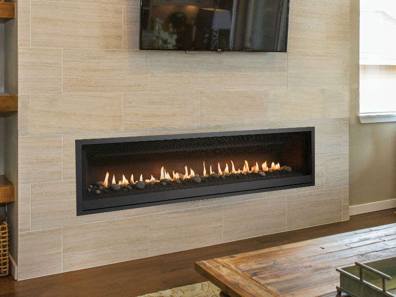 Linear Gas Fireplace >> Probuilder 72 Linear Gas Fireplace Energy House