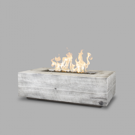 The Outdoor Plus Coronado – Wood Grain Fire Pit