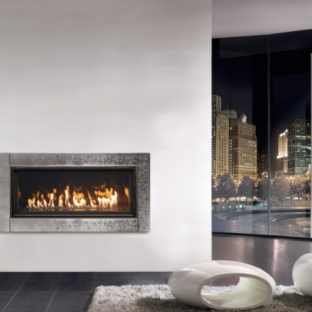 WS38 Contemporary Fireplace