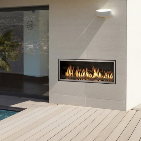 WS54 Outdoor Fireplace