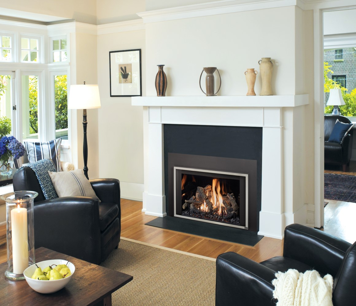 Consider a Gas Fireplace