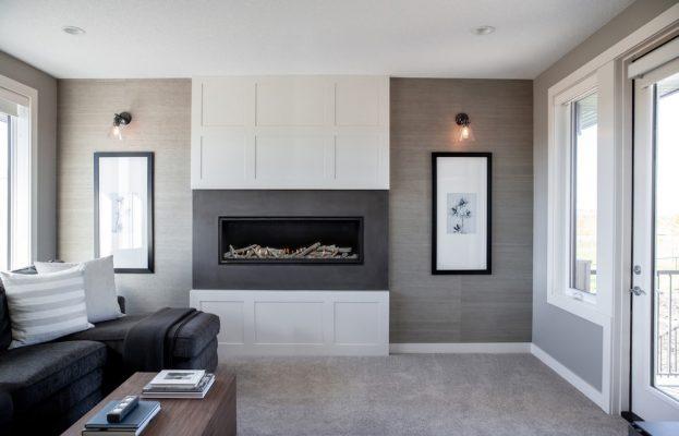 Driftwood Gas Fireplace -Energy House