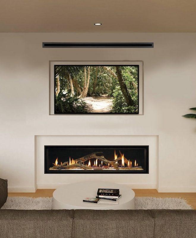 Energy House Gas Fireplace